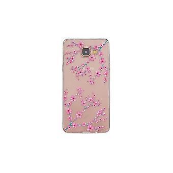 Coque Pour Samsung Galaxy A5 (2016) Transparente Souple Motif Fleurs Japonaises
