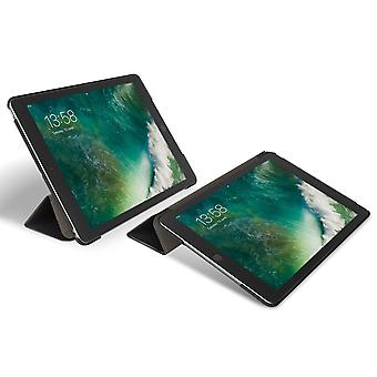 Stand Folio Cover Case For Ipad 9.7 2017 and 2018 Origami-Gecko Covers, Black