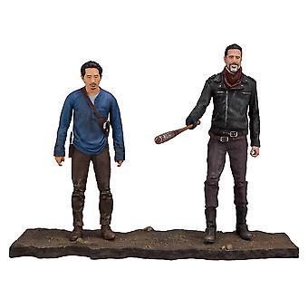 Negan and Glenn 5 Inch Poseable Figure Set from The Walking Dead