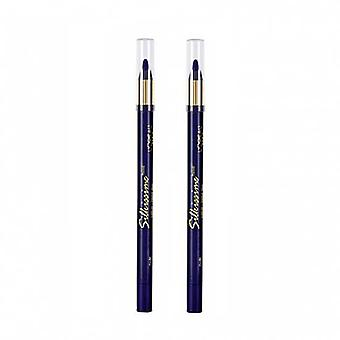L'Oreal Paris Silkissime Eyeliner 'Plum' .03oz/1.1g  (Pack of 2)