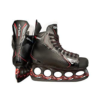 Count PK2900 Skate with T - Blade System Black Edition Senior