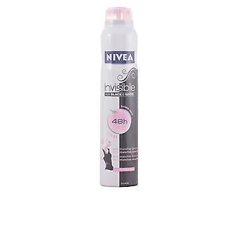 Nivea negro y blanco Invisible Deo Spray 200 Ml para las mujeres