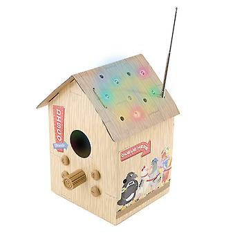 Club Birdbox FM Radio and MP3 Player with Flashing Lights