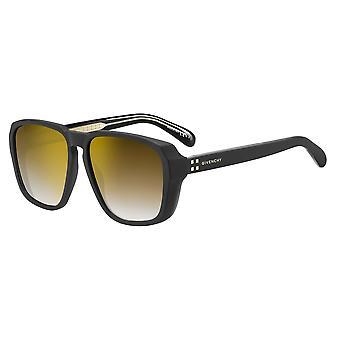 Givenchy GV7121/S 003/JL Matte Black/Brown-Gold Sunglasses