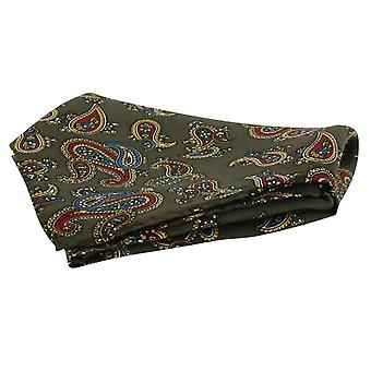 David Van Hagen Vintage Handkerchief - Brown