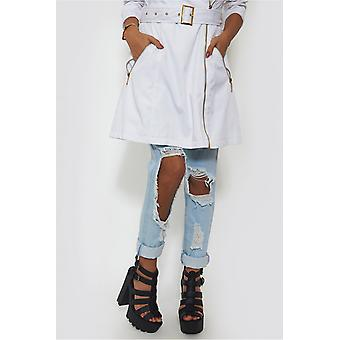 Chunky Black Platform Sandals