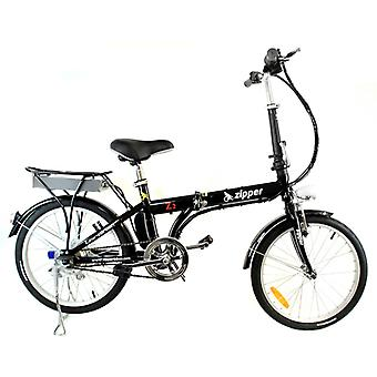 """Z2 Compact Folding Electric Bike 20"""" - Onyx Black"""