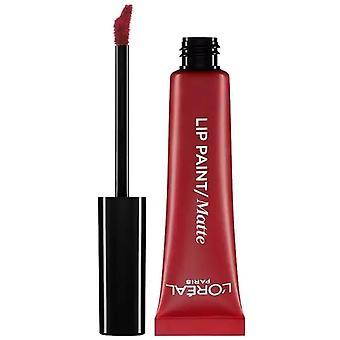 L'Oreal Paris Lip Paint Laca Lápiz Labial Líquido 8ml Apocalipsis Rojo #205