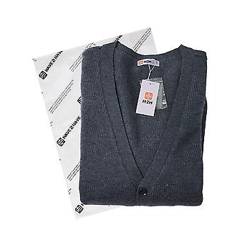 H2H Mens Fashion Basic Button Front Marble Color Cardigan Navy US S/Asia M (C...