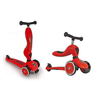 Scoot and Ride Highwaykick 1 2in1 Scooter Red