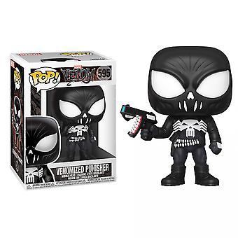 Venom and Punisher Mashup Funko Pop