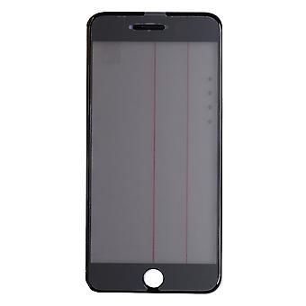 4 En 1 Vidrio Superior Negro & Marco para iPhone 7 Plus iParts4u