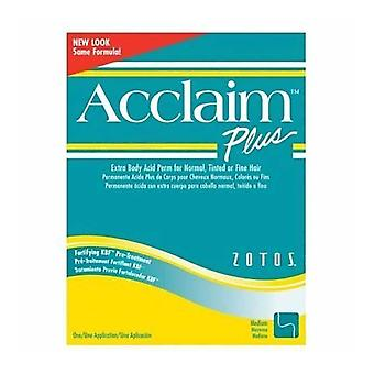 Zotos Acclaim Plus Extra Body Perm