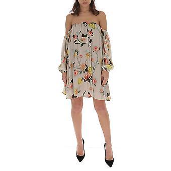 Semi-couture S0ss05stp13 Women's Beige Cotton Dress