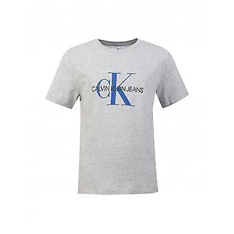 Calvin Klein Jeans Monogram logo tricou cu mâneci scurte