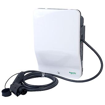 Schneider Electric EVH2S7P0AK 7.4kW Charger with attached cable and T1 Plug