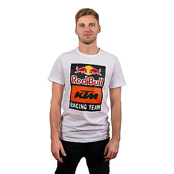 Red Bull KTM Racing Team Men's Emblem T-Shirt | White