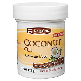 De la cruz coconut oil, moisturizer, 2.2 oz