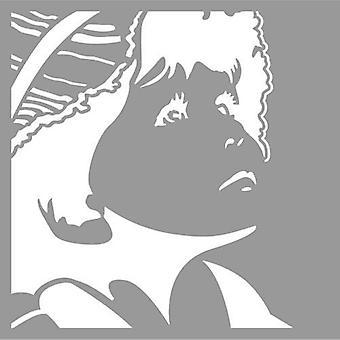 Pronty Maske Schablone Silhouette junge 470.801.049 15x15cm