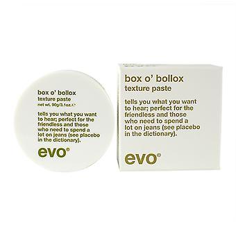 Caixa de Evo da textura Bollox colar 90g/3,1 oz