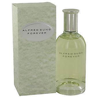 Para sempre, Eau De Parfum Spray por Alfred Sung 4,2 oz Eau De Parfum Spray