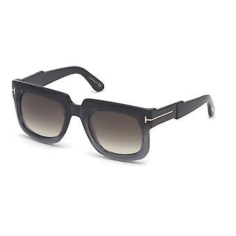 Tom Ford Christian TF729 05B Black/Smoke Gradient Sunglasses