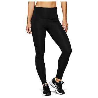 Asics Highwaist Womens Ladies Running Fitness Training Tight Black