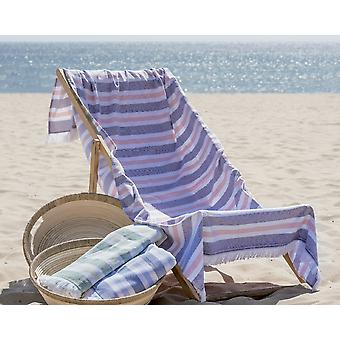Hammam Stripe Beach Towel 100% Cotton 100x180cm.