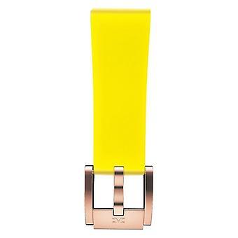 Watch Strap Marc Coblen MCSR-R7404C Yellow (Ø 21 mm)