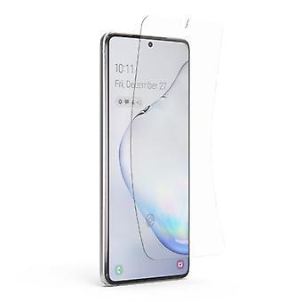 Stoff zertifiziert® Bildschirmschutz Samsung Galaxy S20 Plus Folie Folie PET faltbare Schutzfolie