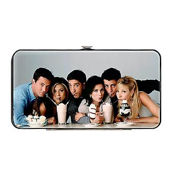 Amis Caractère Milkshake Photo Hinged Clutch Purse