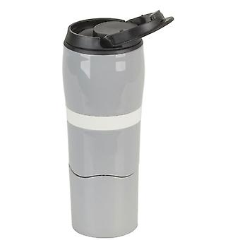 Double Wall Travel Mug with Non-slip Base and Lid (500mL)