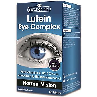 Nature's Aid Lutein Eye Complex Tablets 30 (123910)