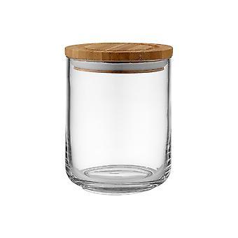 Ladelle Stak Glass klart Canister, 13cm