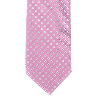 Michelsons af London Square pæn Polyester slips - Pink