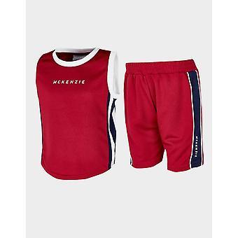 Nouveau McKenzie Infant Micro Danae Vest/Shorts Set Rouge
