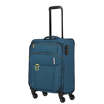 travelite Go Hand luggage Trolley S, 4 ruedas, 55 cm, 33 L, teal