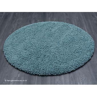 Vista blå cirkel tæppe
