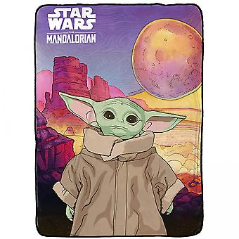 Star Wars Mandalorian Lapsi Fleece Huopa