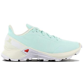 Salomon ALPHACROSS W - Women's Trail Running Shoes Turquoise Green 409615 Sneakers Sports Shoes