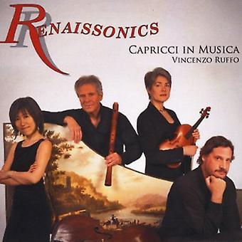 Renaissonics - Capricci in importazione USA Musica [CD]