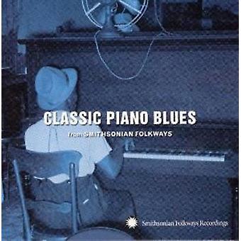 Importer des Blues Piano classique de Smithsonian Fol - Classic USA Piano Blues du Smithsonian Fol [CD]