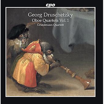 Oboe Quartets 1 [CD] USA import