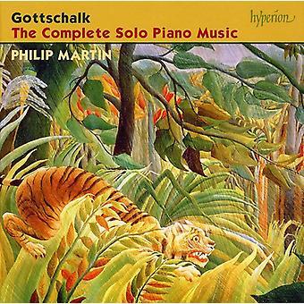 L.M. Gottschalk - Gottschalk: The Complete Solo Piano Music [CD] USA import