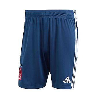 2020-2021 Ajax Adidas Away Shorts (Navy)
