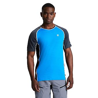 Durf 2b Mens Conflux Wicking Running Crew Neck T Shirt