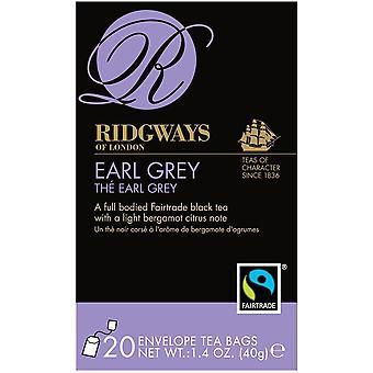 Ridgways Earl Grey Fairtrade Envelope Tea Bags