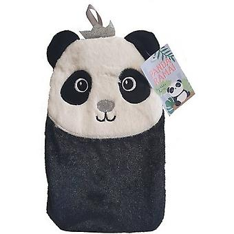 Pandarama Hot Water Bottle With Cover