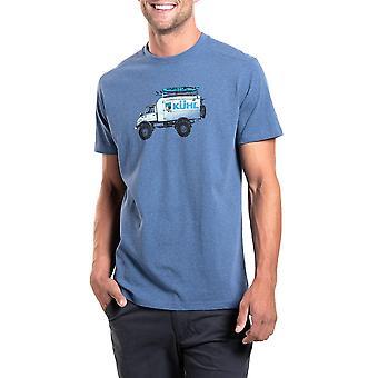 Kuhl Men's Mog Short Sleeve Tee Blue