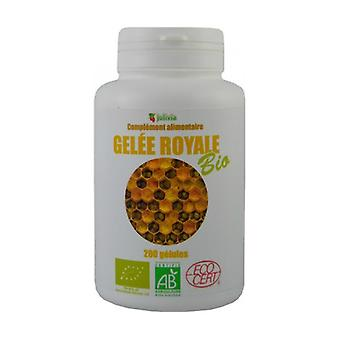 Organic royal jelly 200 capsules of 350mg